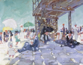 Artist Paulette Van Roekens 1896-1988.