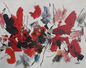 Artist John Von Wicht 1888-1964.