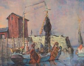 Artist Philip Reisman 1904-1992.