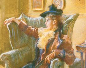 Artist Rosina Emmet Sherwood 1854-1948.