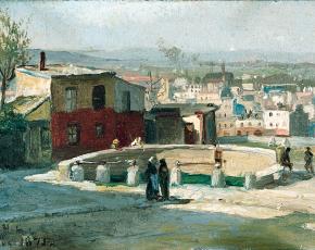 Artist William Henry Lippiincott 1849-1920.