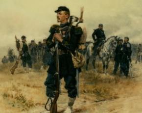Artist Alphonse Marie Adolphe de Neuville 1835-1885.