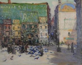 Artist Fred Wagner 1864-1940.