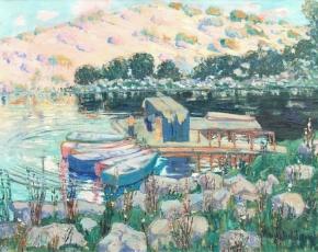 Artist Anni Von Baldaugh 1881-1953.