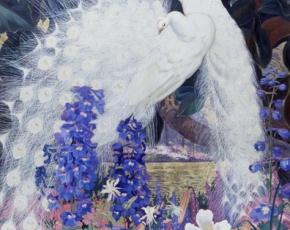 Artist Jessie Arms Botke 1883-1971.