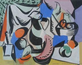 Artist Vaclav Vytlacil 1892-1984.