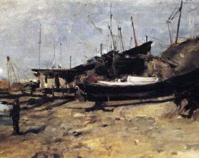 Artist John Henry Twachtman 1853-1902.