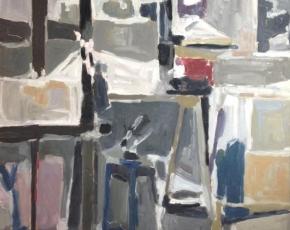 Artist Raymonde Godin born 1930.