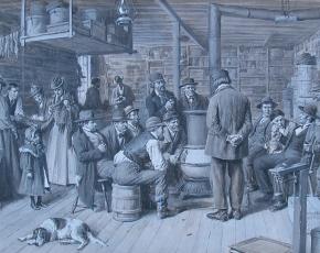 Artist Arthur B. Frost 1851-1928.