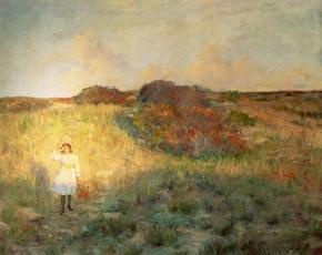 Artist William Merritt Chase 1849-1916.