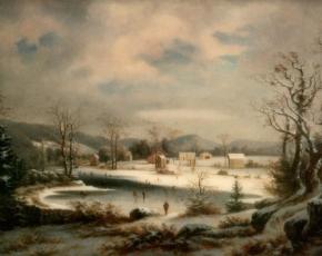 Artist George Gunther Hartwick 1817-1899.