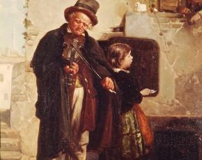 Artist Gerolamo Induno 1827-1890.