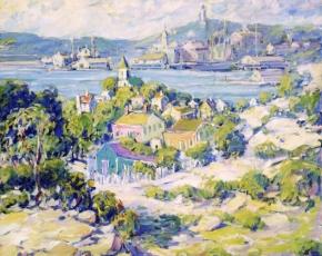 Artist Kathryn E. Bard Cherry 1880-1931.