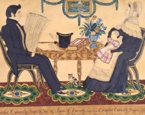 Artist Joseph H. Davis 1811-1865.