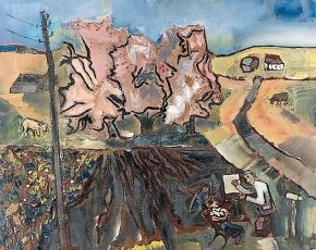 Artist Sterling Strauser 1907-1995.