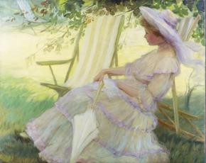 Artist Pauline Palmer 1867-1938.