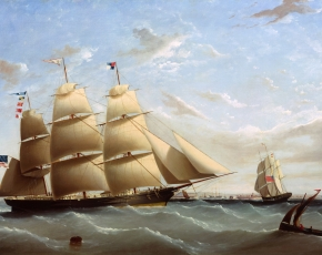 Artist Frederik Tudgay 1841-1921.