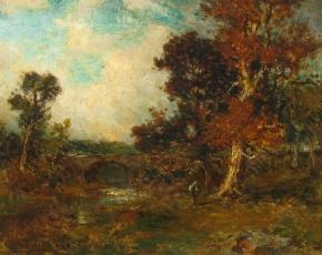 Artist George Herbert McCord 1848-1909.