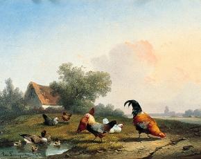 Artist Bornelius Van Leemputten