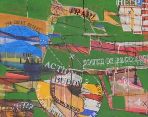 Artist Richard Merkin 1938-2009.