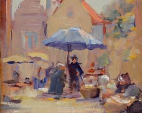 Artist Ruth Anderson 1891-1957.