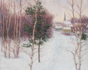 Artist John Leslie Breck 1860-1899.