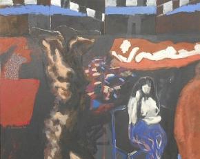 Artist George E. Johanson born1928.