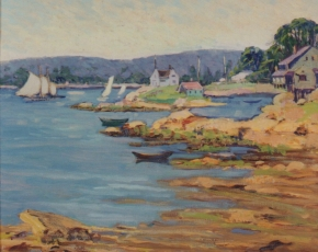 Artist Fern Isabel Coppedge 1883-1951.