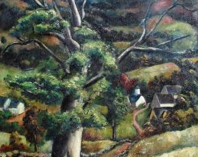 Artist Arnold Blanch 1896-1968.