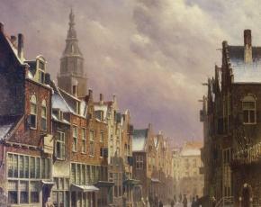 Artist Oene Romkes de Jongh 1812-1896.