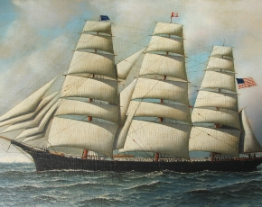 Artist Antonio Jacobsen 1850-1921.