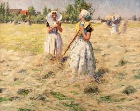 Artist George Hitchcock 1850-1913.