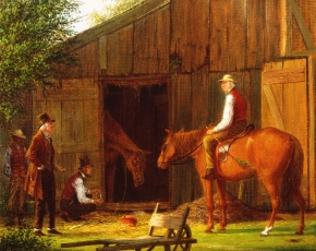 Artist William M. Davis 1829-1920.