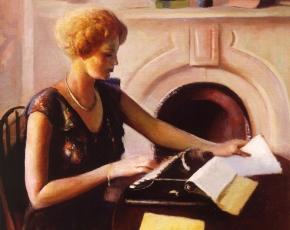 Artist Guy Pene De Bois 1884-1958.
