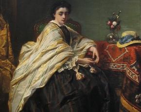 Artist Willem Martens 1838-1895.