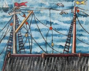 Artist Irene Rice Periera 1902-1971.