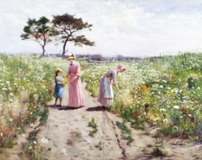 Artist Hamilton Hamilton 1847-1928.