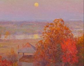 Artist Walter Launt Palmer 1854-1932.