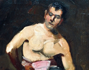 Artist George Luks 1867-1933.