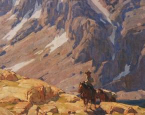 Artist Edgar Payne 1883-1947.