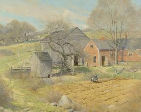 Artist Ogden Pleissner 1905-1983.