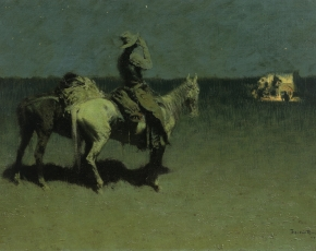 Artist Frederic Remington 1861-1909.
