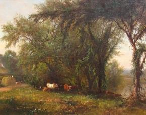 Artist James McDougal Hart 1828-1901.