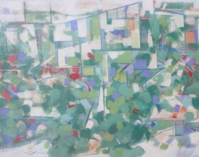 Artist Carl Holty 1900-1973.