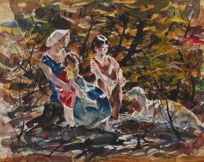 Artist John Costigan 1888-1972.