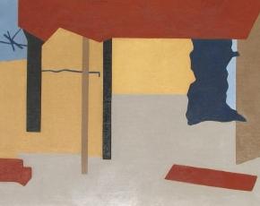 Artist Ralston Crawford 1906-1978.