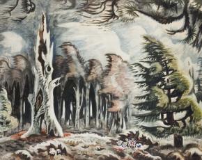 Artist Charles Burchfield 1893-1967.