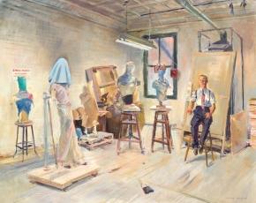 Artist Louis Bouche 1896-1969.