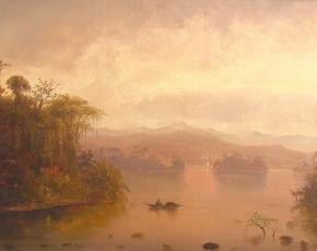Artist Norton Bush 1834-1894.