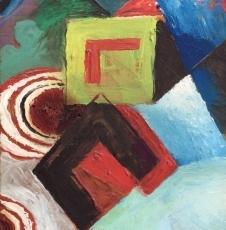 Artist David Burliuk 1882-1967.